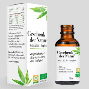Gift of Nature BIO CBD ÖL Tropfen 5%