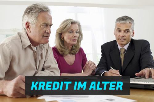 Kredit trotz Schufa im Alter oder als Rentner